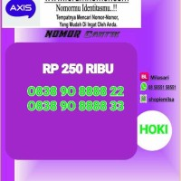 Nomor Cantik Axis Seri Triple aa rapih urut couple 8888 SL 220 Bln9