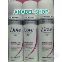 Shampo Dove Haarpflege Dry Shampoo Refresh+Care Trockenshampoo