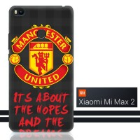 manchester united logo Z2993 Xiaomi Mi Max 2 Full Print 3D Case