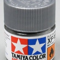Cat Tamiya Acrylic Paint Colour XF-16 Flat Aluminium