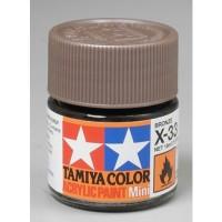 Cat Tamiya Acrylic Paint Colour X-33 Bronze