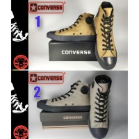 SEPATU CONVERSE ALL STAR HIGH HITAM COKLAT + BOX GRADE ORIGINAL