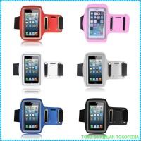 sport Armband Case HP / Sarung Lengan iPhone 4/4s Light Blue i2390
