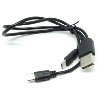 Dual Micro USB Splitter Sync and Charge Cable PROMO