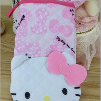 Pegangan / Oven Mitts / Mitten Hello Kitty Pink