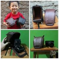 Tas Kamera Mini Mirrorless Kulit Fuji Sony Olympus Canon Nikon Mouse
