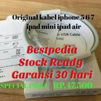 Jual Lightning Kabel Data Iphone 5 5s 6 6s 6+ Original Garansi 30 hari Murah