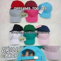 Topi Baseball Adidas Polos PREMIUM / Bahan Drill Nike Converse