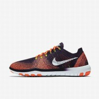 Sepatu Training Wanita Nike Free Focus Flyknit 2 Red Original