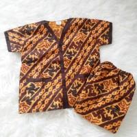 baju tidur anak batik, aku cinta indonesia, bahan katun adem