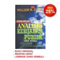 Pengantar Analisis Kebijakan Publik Ed. 2 - William N. Dunn
