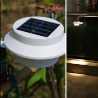 Lampu taman tenaga surya/ solar cell/Tembok/dinding/3 LED Waterproof