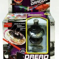 Jual MAINAN ANAK TORBLADE DREAD DRAGON BLACK / TOR BLADE DIY Murah