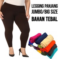 Celana legging panjang JUMBO wanita / BIG SIZE
