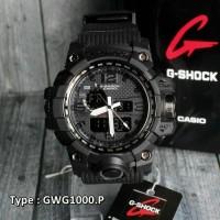 Jam Tangan Casio G-Shock GA-100 Full Black/RED /Pria suunto/skmei