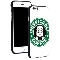 Jual Apple iPhone 7 & 7 Plus Soft Tpu Case Despicable Minions Coffee Murah