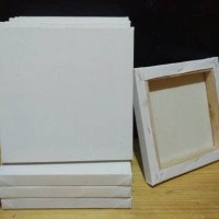 Canvas (Kanvas) Lukis Standard, Ukuran 40 x 50 cm