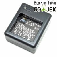 [MG]Dual Battery/Baterai/Batere Charger for Xiaomi Yi Battery