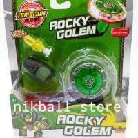 Jual MAINAN ANAK TORBLADE ROCKY GOLEM GREEN / TOR BLADE Murah