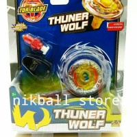 Jual MAINAN ANAK TORBLADE THUNDER WOLF YELLOW / TOR BLADE Murah