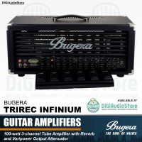 Ampli Gitar BUGERA TRIREC INFINIUM + Footswitch Guitar Head Amplifier