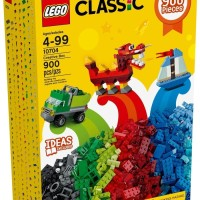 Jual LEGO Classic 10704 Creative Box Set Building Toy Basic Brick 900 pcs Murah