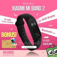 Jual Xiaomi Mi Band 2 MiBand Original + BONUS Murah
