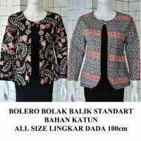 Jual Bolero batik Blazer batik Cardigan modern batik bolak balik blouse kan Murah