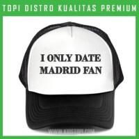 Topi Real Madrid 1 Trucker Baseball Snapback RMD01 Distrov
