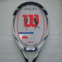 Raket Tenis Tennis Wilson Three BLX