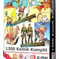 Paket Komik Nostalgia Komplit (6DVD)   Komik Jadul