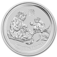 Koin Perak Australia 1 dollar (1oz) Seri Monyet (Free Capsule)