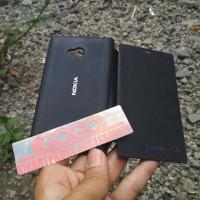 Flip Cover Case Casing Nokia Lumia 720 Black