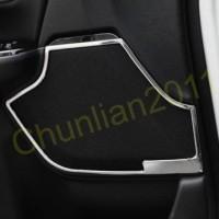 Interior Car Door Speaker Cove Trim for 2017-2018 Honda CRV CR-V 4pcs