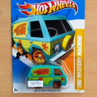 Hot Wheels The Mystery Machine Scooby-Doo! HW Premiere 2012