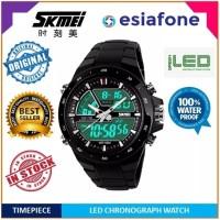SKMEI AD 1016 Dual Time Sport Watch - Jam Tangan Pria Original