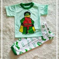Baju Setelan Anak/baju Tidur Anak/piyama Anak-lalucu1a