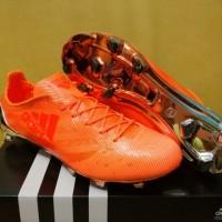 Sepatu Bola Adidas Adizero F50 99 Gram Orange Chrome