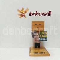 Jual Boneka Kayu Danbo Polisi Turn Back Crime Kado Ultah Couple Romantis Murah