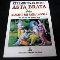 Kepemimpinan Hindu Asta Brata  dan Nasehat Sri Rama-buku bali hindu