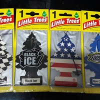 Parfum Mobil Pohon Cemara - Little Trees Coconut Trees Car Freshener