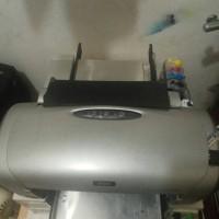 mesin printer DTG A4 kaos gelap