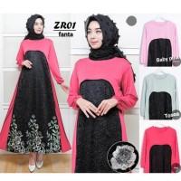 Baju Gamis Fashion Wanita Maxi Muslim Murah Dress Muslim Panjang