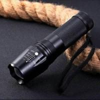 SENTER LED CREE XM-L T6 26650 5000 LUMENS