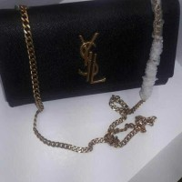 ysl flap sling bag caviar mirror quality