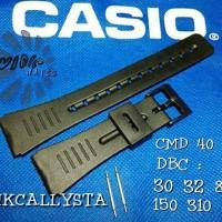 STRAP CASIO DATABANK CMD40 / CMD-40 / CMD 40 KW RUBBER