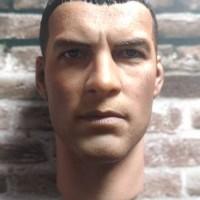 Head Sculpt (HS) Hot Toys ORI Terminator Salvation Marcus Wright