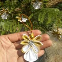 Jual Hiasan Natal/ Pohon Natal Angel /Christmas Ornamen/ Aplikasi bunga Murah