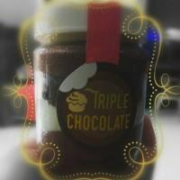Jual Triple Chocolate Cake in Jar Murah