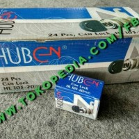Kunci Loker Kait Cam Lock 20 mm / Locker / Lemari merk Huben HL 103-20